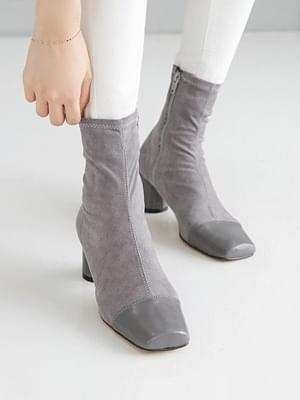 Fashionable Socks Ankle Boots 5.5cm