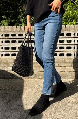 Piking-Date Cropped Pants