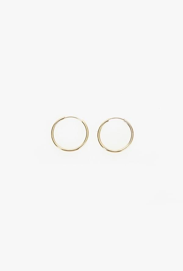 Simple ring earring