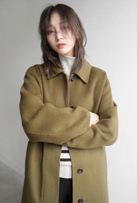 Handmade clean long coat