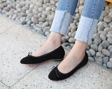 Drake ribbon flat shoes