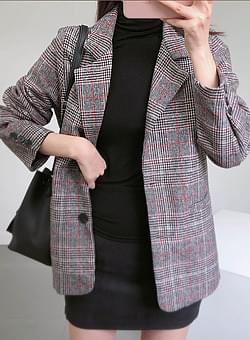 Brown Glen check jacket