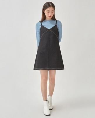 stitch mini denim ops