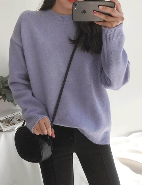 Melanomomo round knit