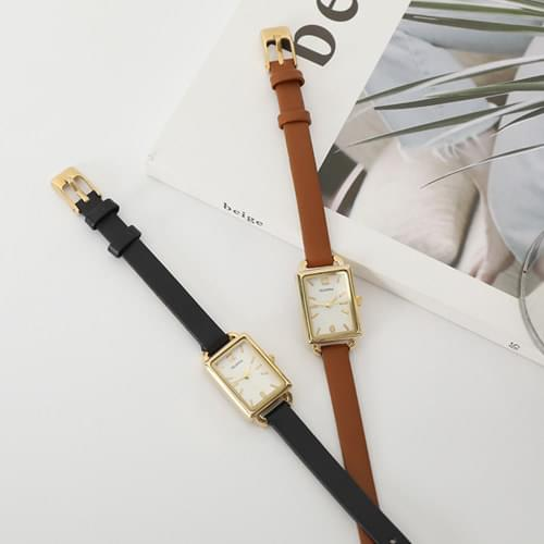 Breeze leather watch