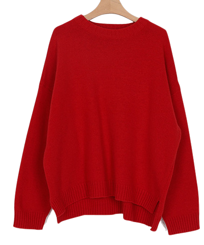 mono round wool knit (5colors)
