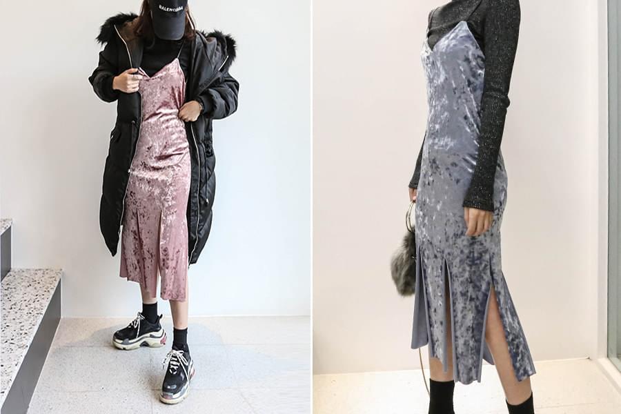 Velvet Bustier Full Dress _op02777