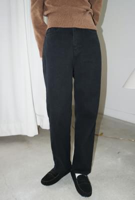 French black cotton jean