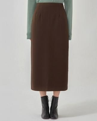 softly simple long skirt (s, m)
