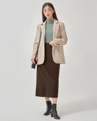 jane tailored wool jacket