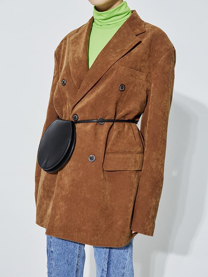 corduroy double jacket (3 color) - UNISEX
