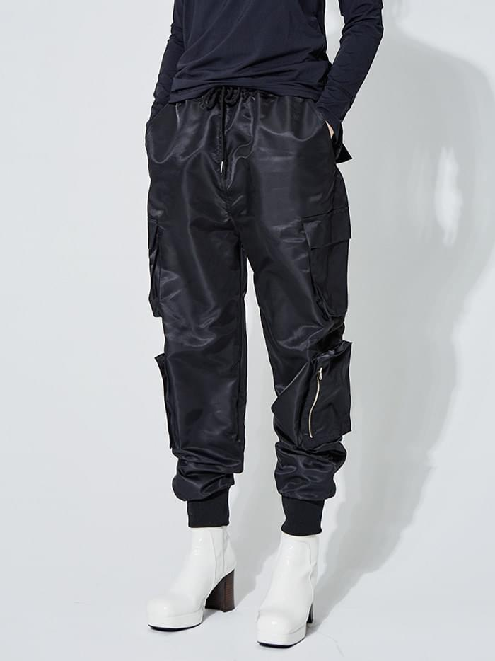 track banding pants (2 color) - UNISEX