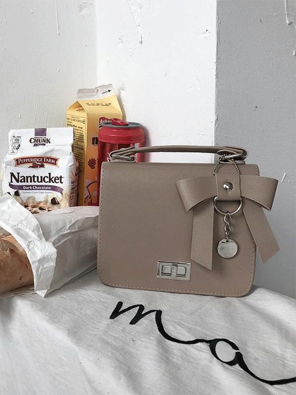 Ribbon Mini Square Bag