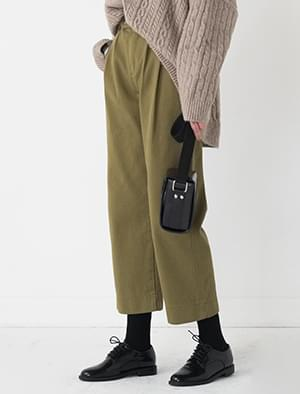 9-length cotton pants
