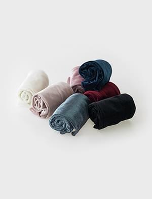 7 color velvet long socks