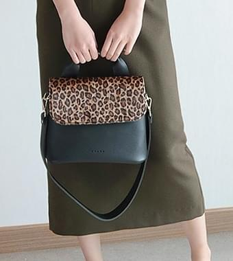 Leopard Dolce Tote & Shoulder Bag