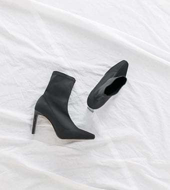 Stiletto Socks Ankle Boots