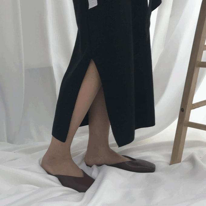 Oatmeal Long Skirt
