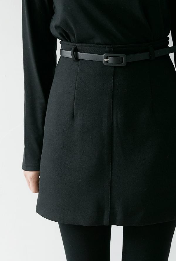 Clair belt skirt
