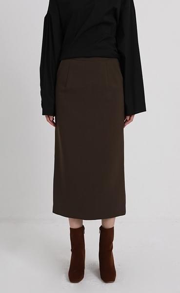 maret slit skirt (3colors)