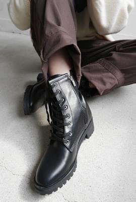 Preppy walker ankle boots