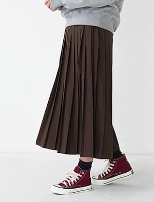 normal banding pleats skirt