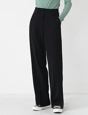 real straight fit slacks