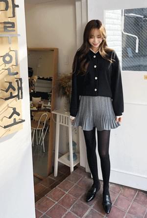 Half mini skirt