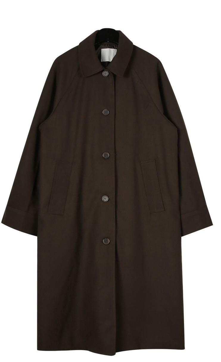 Modern single long coat