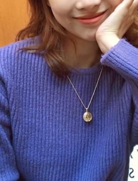 Three layered necklace set_B