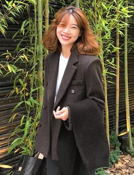 Camden vintage wool jacket _S (울 60%) (size : free)