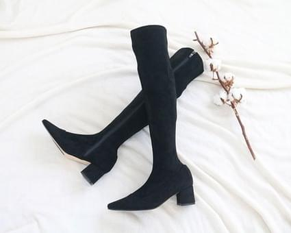 Mickelson suede boots