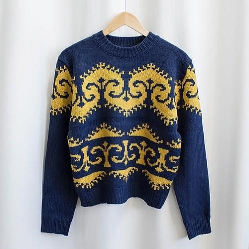 Nordic Queens Round Knit