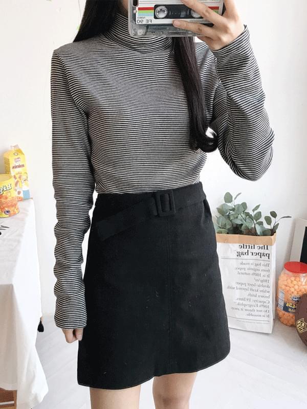 Daily Mochi Belt Skirt