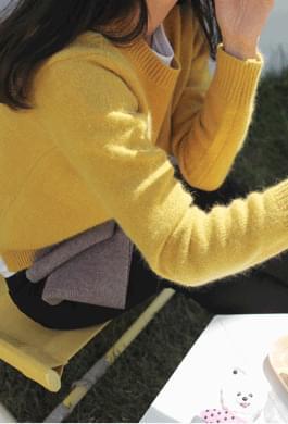 Pudding Angora Round Knit