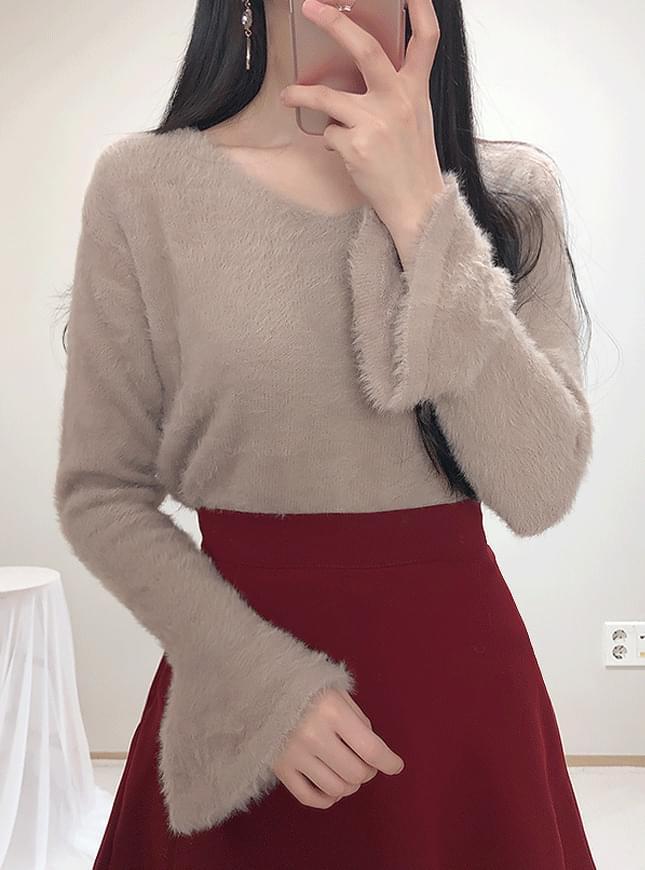 ♥ X Thong Fur Knit