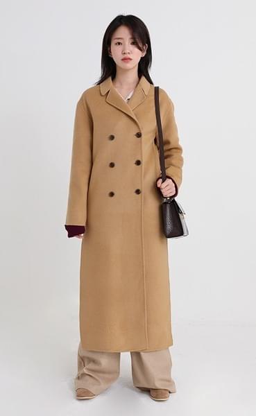 handmade double slit coat (2colors)