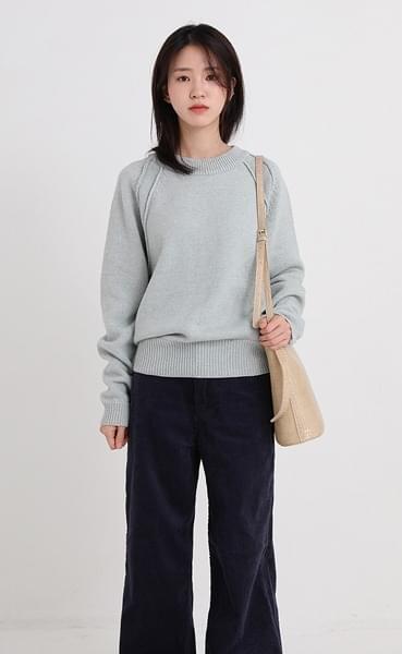 raglan wool knit (3colors)