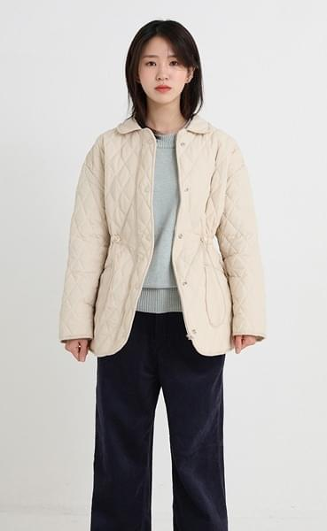 select quilting jacket (2colors)