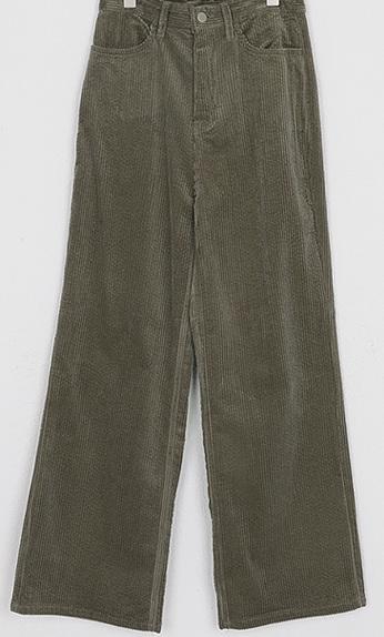 loose fit corduroy pants (3colors)