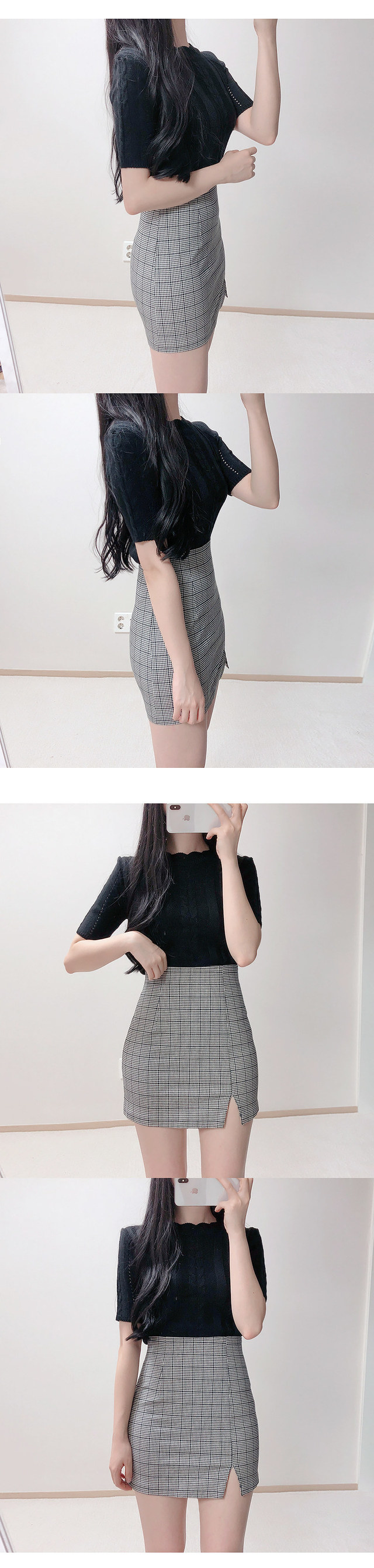 ♥ cloud thickening knit rivets order