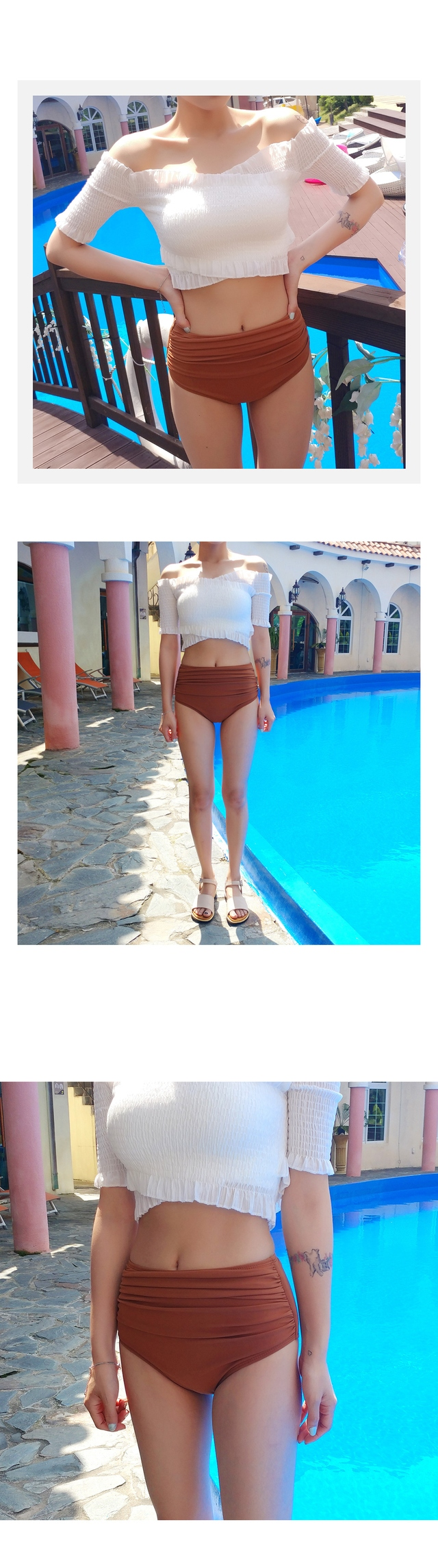 Again color scheme Bikini panties