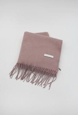 Cashmere soft muffler