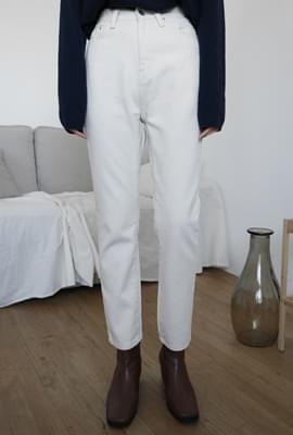 Wearable straight cotton pants