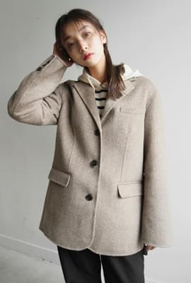 Handmade basic single jacket