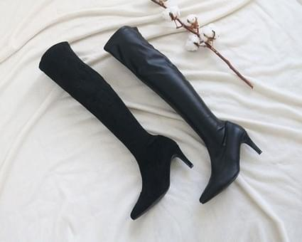 Devner Stiletto Long Boots