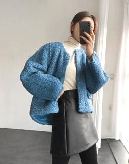 Fleece pocket jk