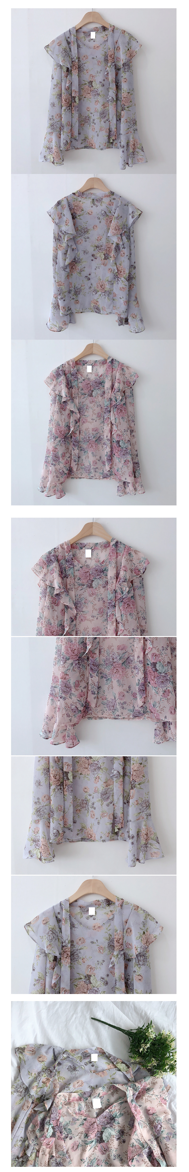 ♥ Romantic Flower Blouse