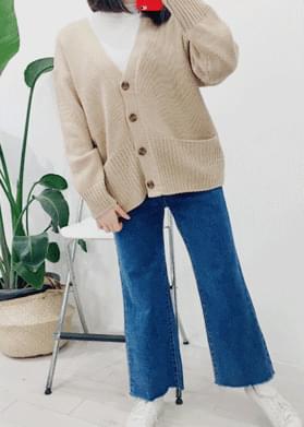 Shebory pockets knit cardigan