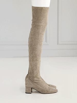 León de saxony high boots 5.5cm